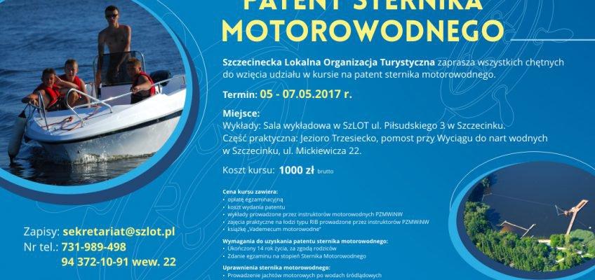 Kurs przygotowawczy na patent sternika motorowodnego