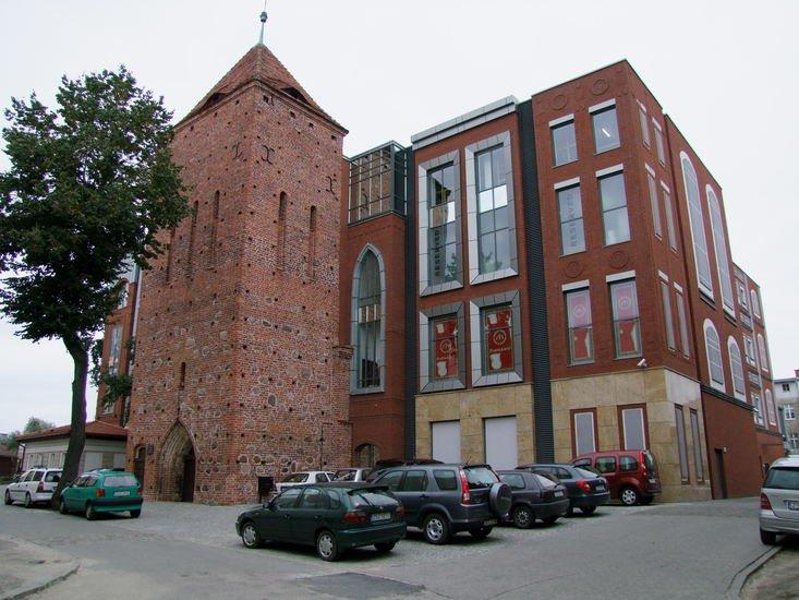 Wieża gotycka po kościele św. Mikołaja