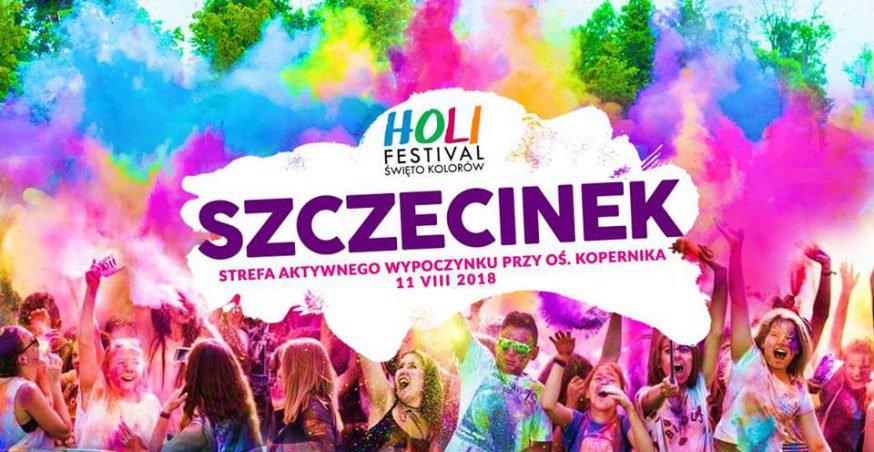 Święto Kolorów w Szczecinku – 11.08.2018